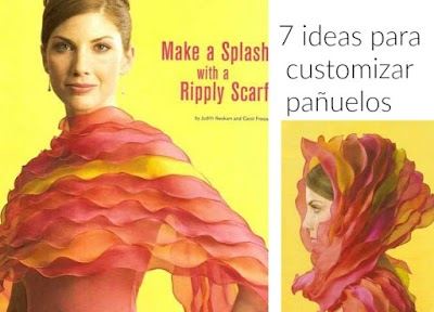 7 ideas para customizar pañuelos