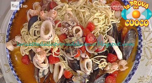 Ricetta dei Tagliolini allo scoglio da La Prova del Cuoco
