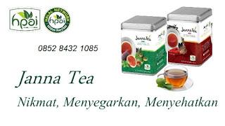 Khasiat janna tea hot~ janna tea cool hpai asli original stokis resmi