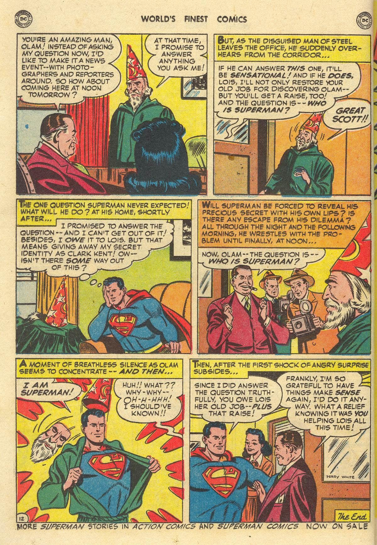 Read online World's Finest Comics comic -  Issue #51 - 14