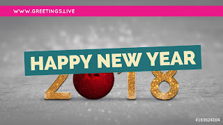 Fantasy greetings for new years celebration