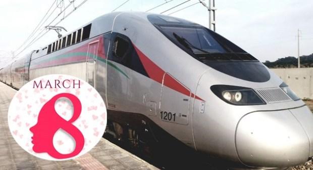 المكتب الوطني للسكك الحديدية يقدم هدية خاصة للنساء بمناسبة 8 مارس