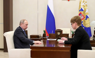 Vladimir Putin held a meeting with Governor of Trans-Baikal Territory Natalya Zhdanova.