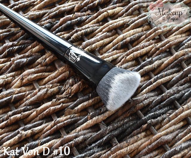 Kat Von D Lock-It Edge Foundation #10 Brush Review