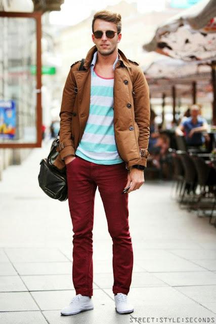 look masculino frio
