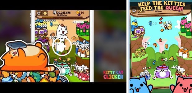 Kitty Cat Clicker - Hungry Cat Feeding Game | Android Games HD | Salman Games