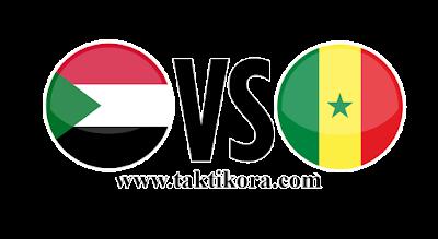 مباراة السودان والسنغال بث مباشر