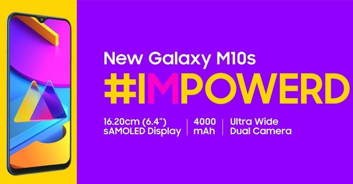 Spesifikasi Samsung Galaxy M10s