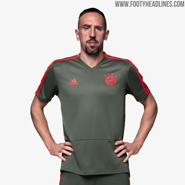 c8afd04fb719 Bayern Munich 18-19 Training Kit Released - Footy Headlines