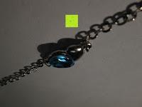 Anhänger Lücke: Fashmond Schmuckset Schmuck-Sets eine Ohrringe, ein Armband und eine Halskette Kette mit Anhänger für Frauen Mädchen Blau aus Kristall