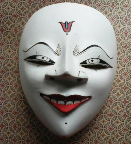 1. Indonesian Mask: Topeng Panji