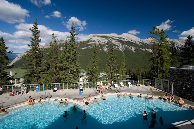 Banff Upper Hot Springs no Canadá