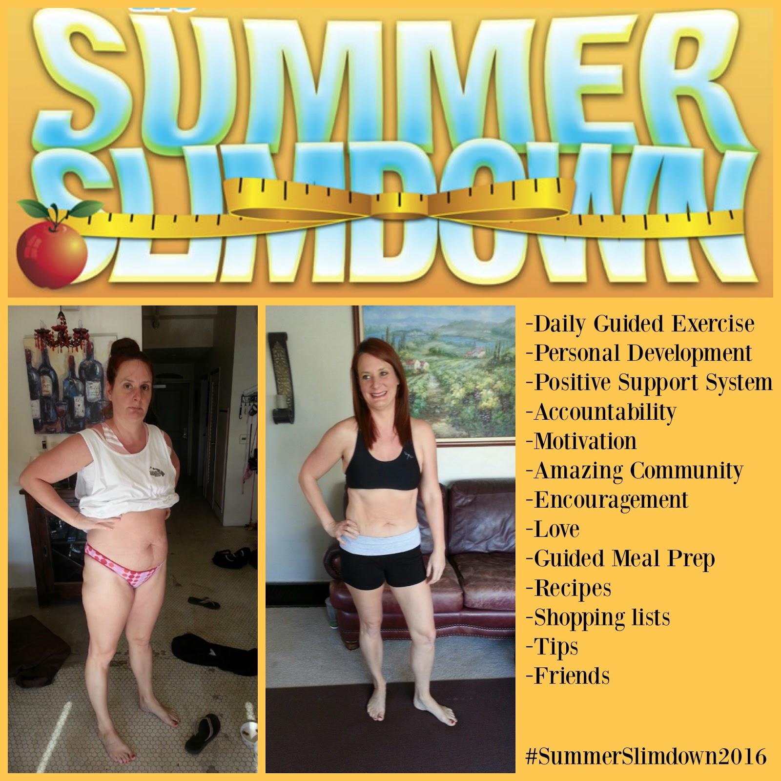 summer slim down guide)