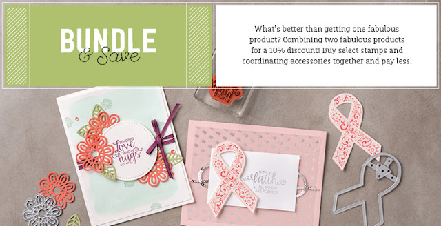 Invest in a Stampin' Up! Bundle and save 10%