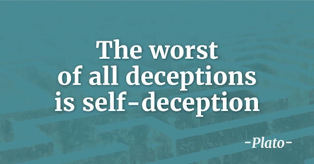 top Plato Quotes the worst is self deception