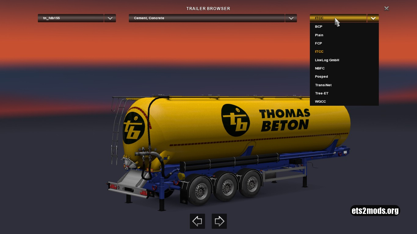 Cistern Trailers Pack