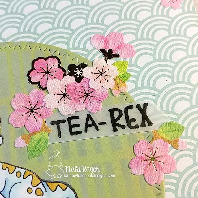 Newton's Nook Designs Tea-Rex Set - Naki Rager