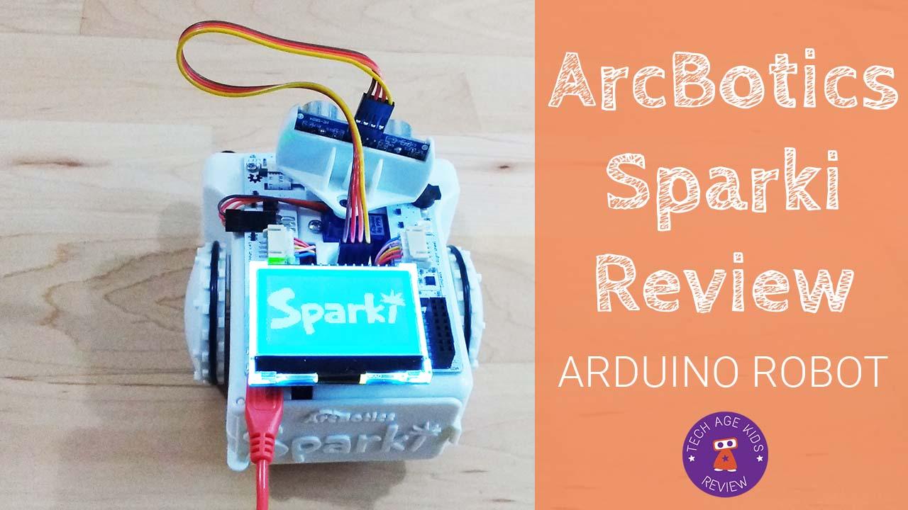 Arcbotics sparki arduino robot review