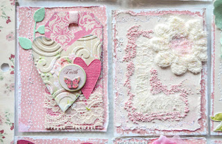 shabby chic pocket letter style - how to make pocket letters