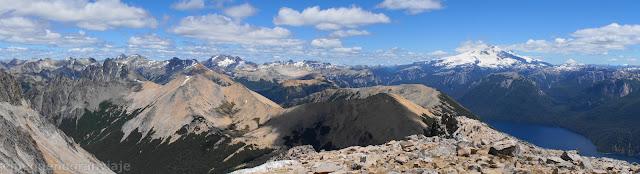 panoramica, bariloche, tronador, volcan osorno