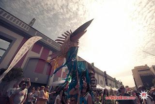 Womad Las Palmas de Gran Canaria 2017 - El pasacalles (final del festival)