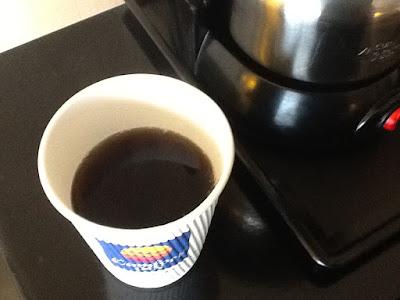 Memphis hotel American coffee