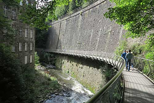 Millennium Walkway, New MIlls, Derbyshire.