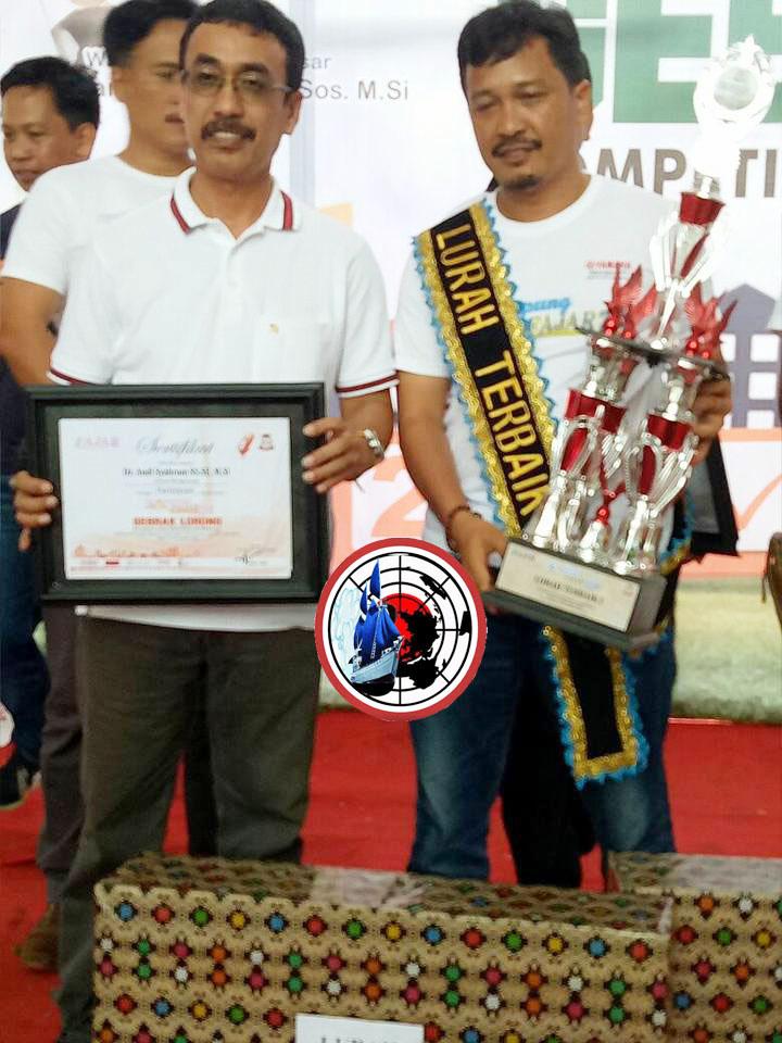 Camat Biringkanaya Bersama Lurah Terbaik se Makassar