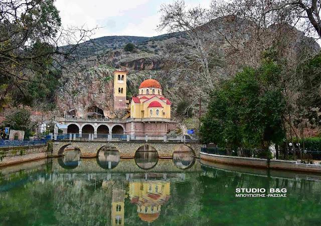 Πολύ νερό κατεβάζει το μαγευτικό Κεφαλάρι στο Άργος