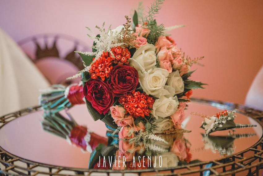ramo de novia flores