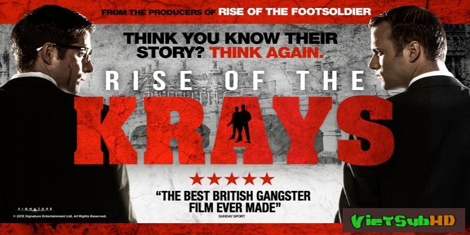 Phim Tội Ác Trỗi Dậy Trailer VietSub HD | The Rise of the Krays 2015