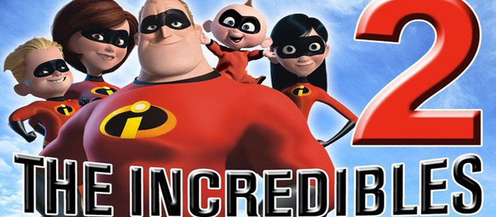 The Incredibles 2 from 15 June 2018