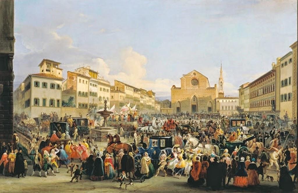 Firenze nei dettagli le nuvole del pittore for Finestra rinascimentale disegno