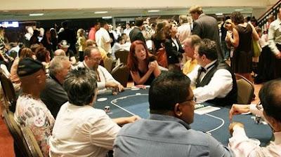Jugador de poker loco