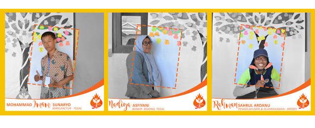 Profil Relawan Kelas Inspirasi Brebes #3 SDN Kalipucang  Mohammad Imam Sunaryo, Nadiya Asfiyani, Rahman Sahrul Ardanu