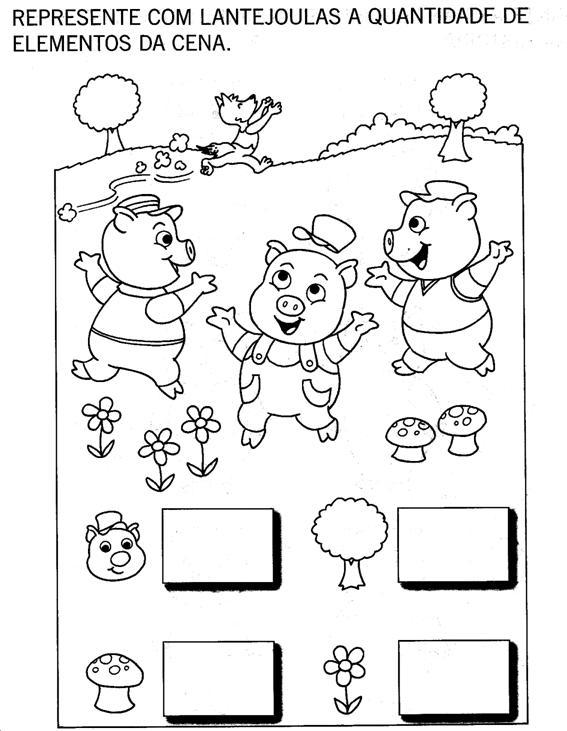 Nosso Espaco Da Educacao Projeto Os Tres Porquinhos 2