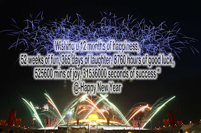 Advance Happy New Year Messages 2017