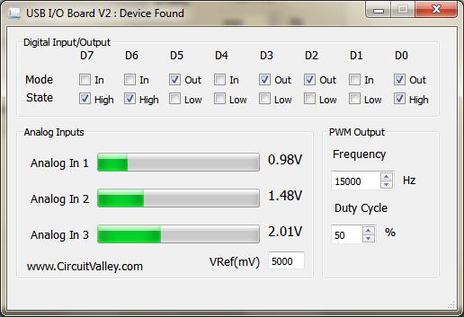 Embedded Engineering : Cross Platform USB I/O Board With PWM in Qt5
