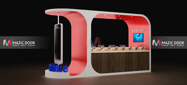 Samsung Product Display Design 02