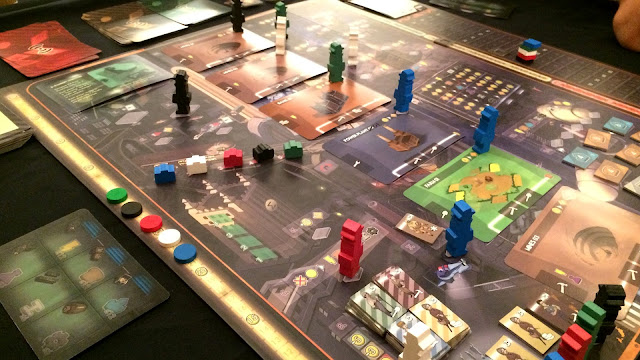 Crisis worker placement board game review