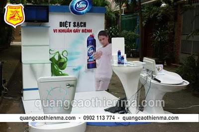 quầy booth quảng cáo