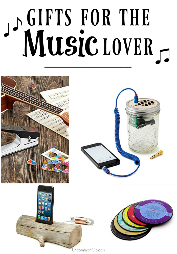 Gifts for the Music Lover - UncommonGoods - #myuncommongoods