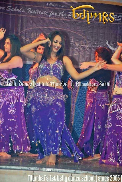 Ritambhara Sahni belly dance