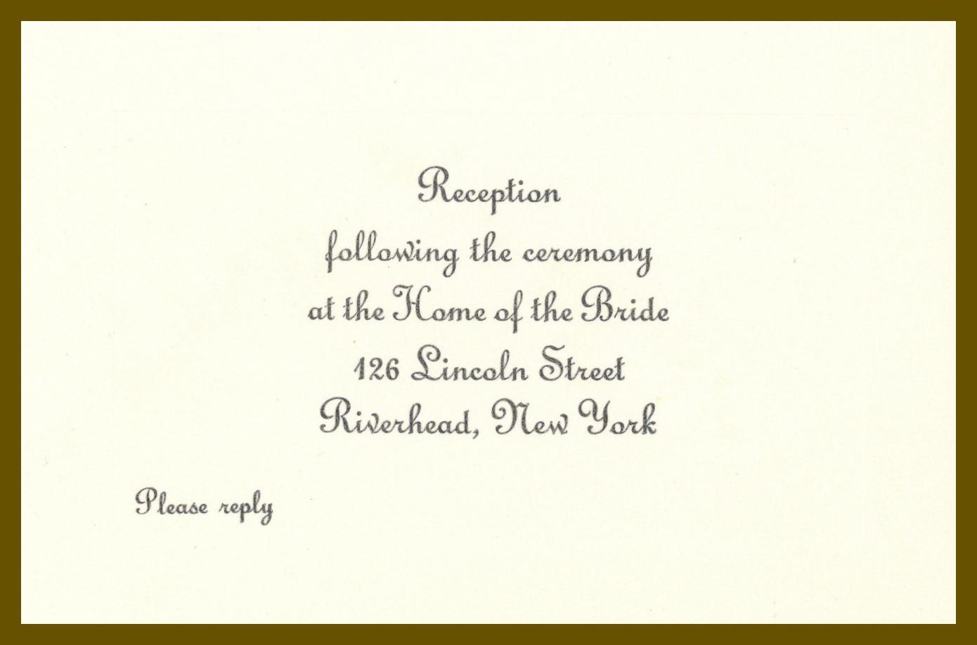 Invitation Note For Wedding: Wedding Reception Invitation Letter. Invitation Letter To