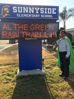 """Al the Green Rain Train"" and GOOGLE"