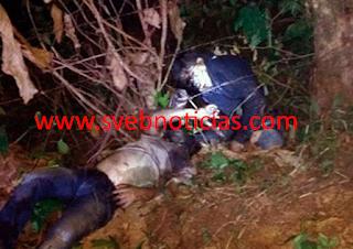 Hallan dos ejecutados en estado de putrefaccion en Hidalgotitlán Veracruz