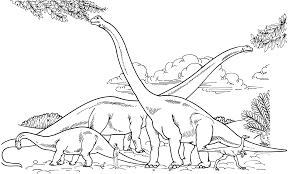 Brachiosaurus Coloring Pages Images