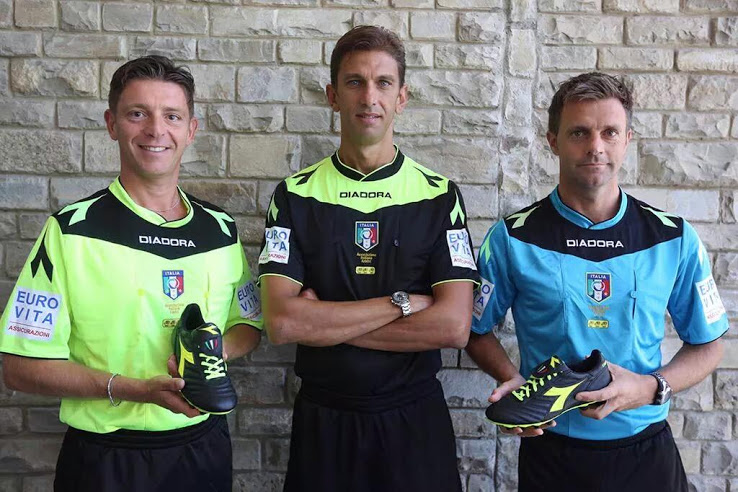 After 26 Years - Legea Replaces Diadora As Serie A Referee Kit Supplier 95a502e80