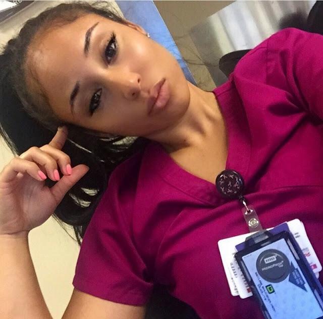 Photos Of Nurse Kaicyre Palmers! - world's hottest nurse