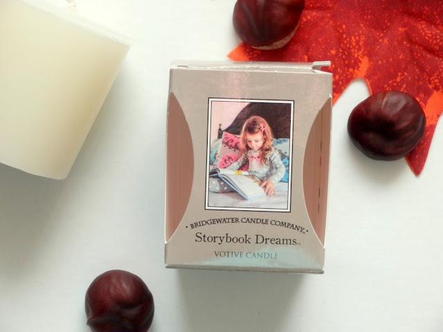 votivní svíčka, bridgewater candle storybook dreams
